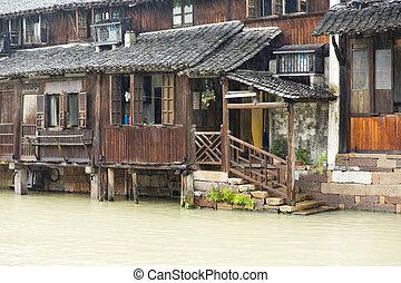 Wuzhen, China - The scenery of Wuzhen, one of the Chinese ...