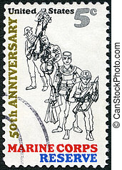 ww, frogman;, 1966:, usa, -, 1966;, látszik, küzdelem, ii, ...