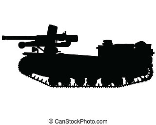 ww2, 坦克, -, 破坏者