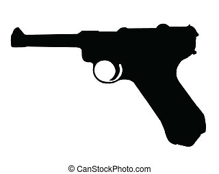 ww2, 手枪, -