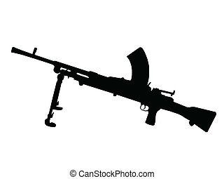 ww2, 机枪, -