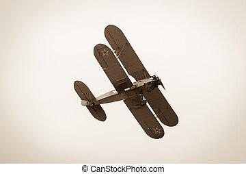 ww2, 飞机, 双翼飞机, polikarpov, po-2