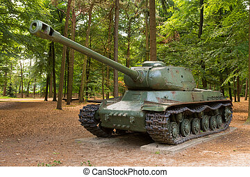 WW2 battle tank