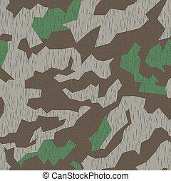 WW2 Camo, seamless - Seamlessly tileable German camo pattern...
