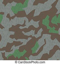 WW2 Camo, seamless - Seamlessly tileable German WW2 splinter...