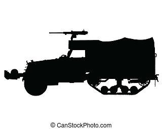 WW2 - Halftrack Armoured Car - WW2 Series - American M3...