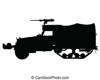 WW2 - Halftrack Armoured Car - WW2 Series - American M3 ...