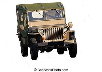 WW2 Jeep - Very old WW2 Jeep
