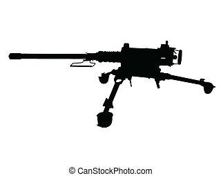 WW2 - Machine Gun - WW2 Series - American Browning 12.7mm ...