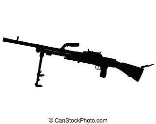 WW2 - Machine Gun - WW2 Series - Czechoslovakian Lehky ...