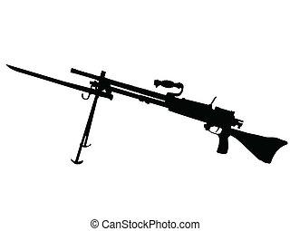 WW2 - Machine Gun - WW2 Series - Japanese Type 96 light ...