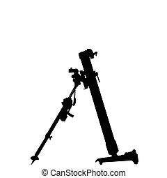 WW2 - Mortar Launcher - WW2 Series - German 8cm Schwere...