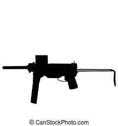 """WW2 Series - America M3 """"Crease Gun"""" sub-machine gun"""