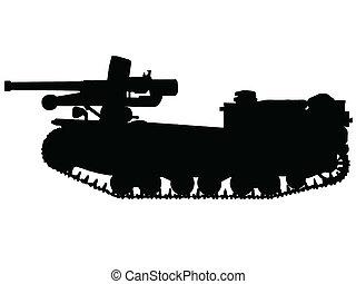 WW2 - Tank Destroyer - WW2 Series - Italian L40 da 47/32...