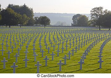 WWII American Soldiers' Graves