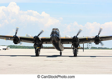 W.W.II legendary aircraft bomber.