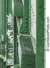 WWII Old Sava's Bridge Detail
