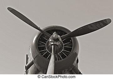 wwii, repülőgép