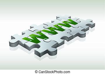 www, ジグソーパズル