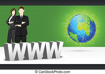 www, 商業界人士