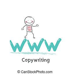 www, 手紙, copywriters