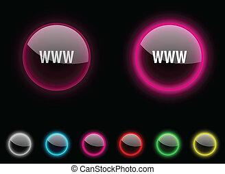 www, button.
