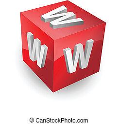 www button, icon