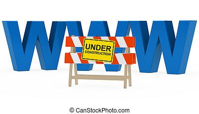 www, construction, sous