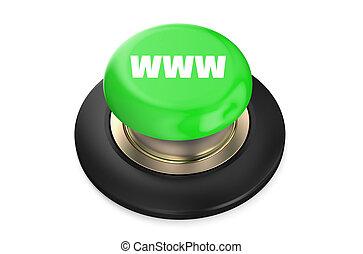 WWW Green button
