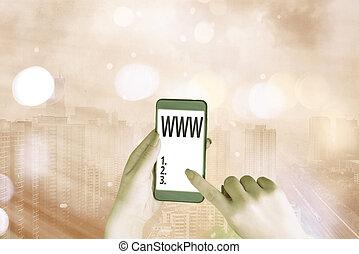 www., html, conceptual, accessed, texto, contenido, foto, ...