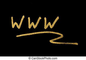 WWW internet conception text