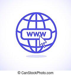 www internet icon