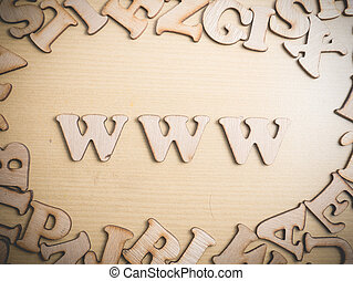 www, world wide web, internet, concepto