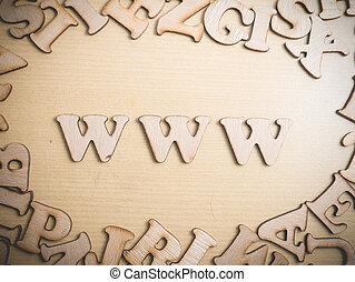 www, world wide web, internet, concepto