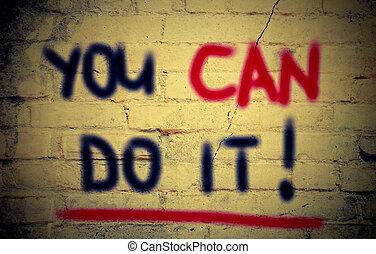 wy możecie zrobić to, pojęcie