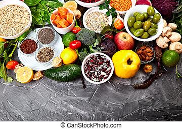 wybór, pojęcie, jadło, składniki, utworzyć, zdrowy, pokarmy