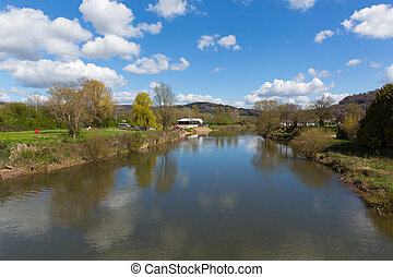 Wye valley view River Wye Monmouth - River Wye Monmouth...