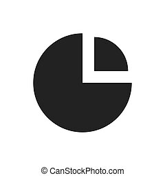 wykres, analiza, ikona