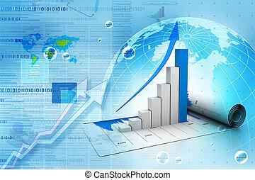 wykres, handlowy