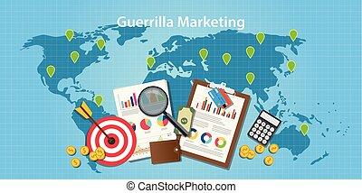 wykres, wojna podjazdowa, wykres, tarcza, cele, światowa mapa, handel, pojęcie