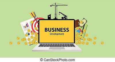 wykres, wykres, pieniądze, laptop, handlowy, papier, zbudowanie, złoty, tarcza, narzędzia, dokument, rozwój, pojęcie