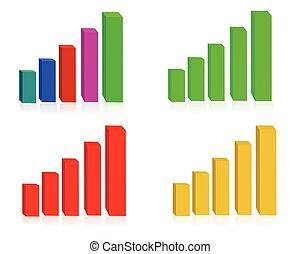 wykresy, handlowy
