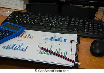 wykresy, klawiatura