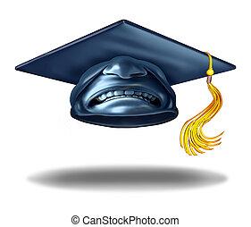 wykształcenie, brak