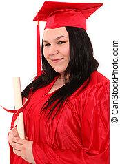 wykształcenie, dorosły, absolwent