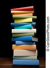wykształcenie, etiuda, książki
