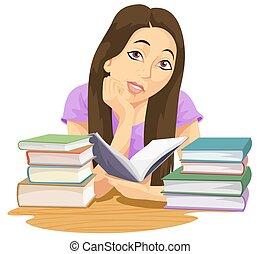 wykształcenie, ilustracja
