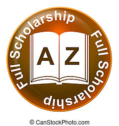 wyobrażenia, pełny, etiuda, nauka, wykształcenie, stypendium