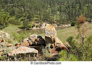 wyoming, rocas