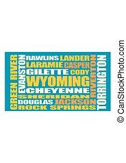 Wyoming state cities list